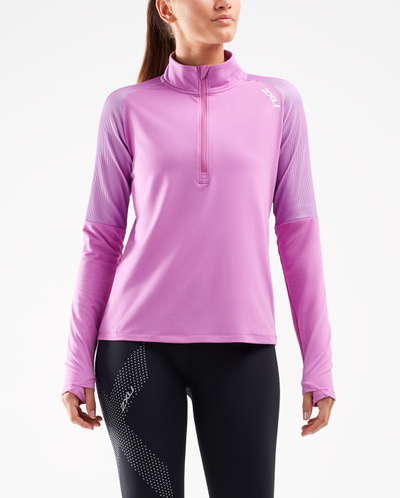 Ghst 1/2 Zip Long Sleeve Top