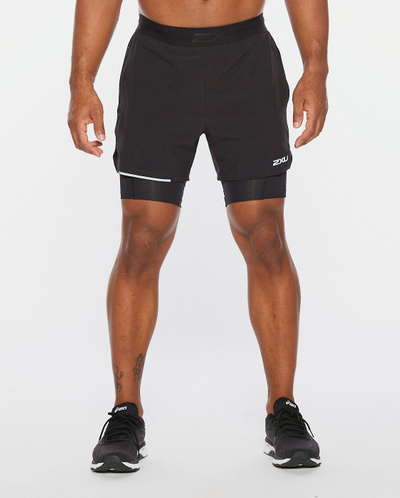 Xvent 2-In-1 5 Inch Shorts