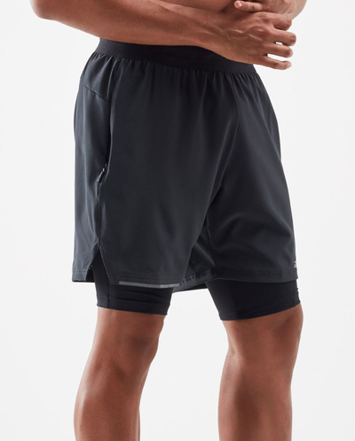 Xvent 2-In-1 7 Inch Shorts