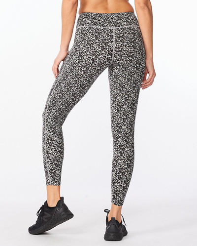 Form Print Mid-Rise Compression Tights